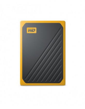 My Passport Go,2TB Black W/Yellow Trim