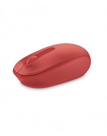 Microsoft Wireless Mbl Mouse 1850-Red