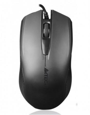 A4 TECH Kablolu USB V-Track 1000DPI Siyah Mouse...
