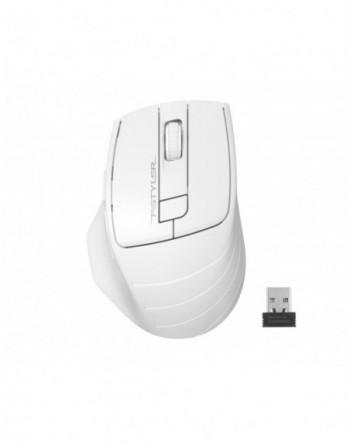 A4 TECH FG30 Kablosuz Optik Nano 2000DPI Beyaz Mouse...