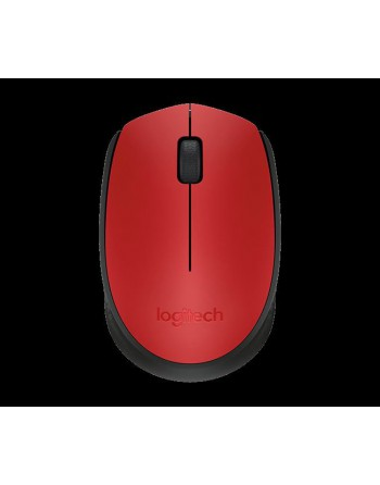 LOGITECH M171 Kablosuz Nano 1000DPI Kırmızı Mouse...