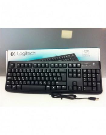 LOGITECH Kablolu USB F Türkçe Standart Klavye...