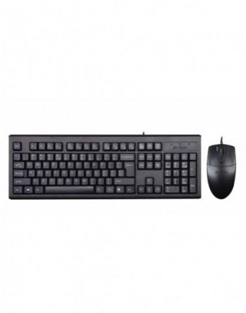 A4 TECH Kablolu Q TR Multimedya Klavye Mouse Set...