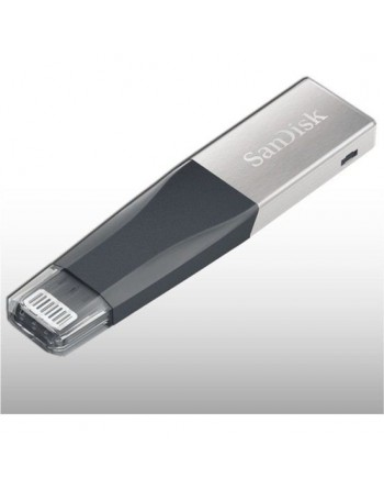 SANDISK 256GB iXpand Mini USB 3.0 Siyah iPhone USB...