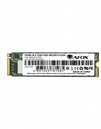 AFOX SSD 512GB M.2 2280 NVME PCI-E  2078-1665MB/S 3D...