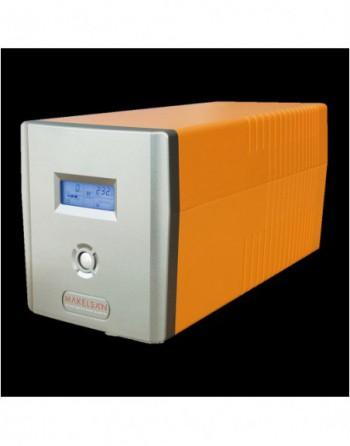MAKELSAN Line-Intractive Lion 1200VA 5-10 Dk 2x7AH...