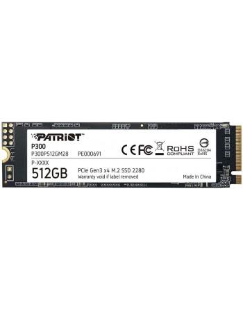 PATRIOT 512GB P300 M.2 2280 PCIE Gen3 x 4...
