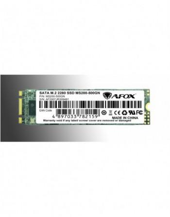 AFOX SSD 500GB M.2 2280 SATA3 560-500MB/S  3D TLC...