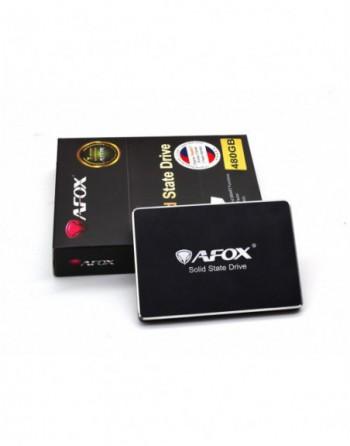 "AFOX SSD 480GB 2.5"" 560-480MB/S  SATA3 (SD250-480GN)"