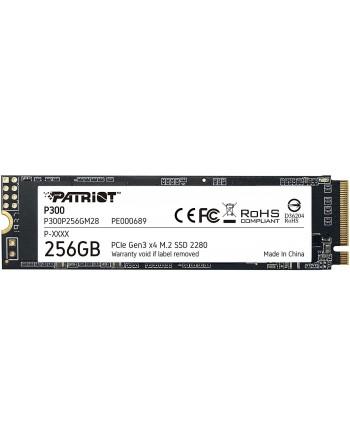 PATRIOT 256GB P300 M.2 2280 PCIE Gen3 x 4...