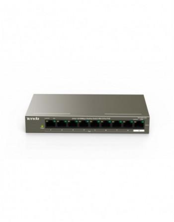 TENDA 8 Port 10/100 PoE, 9 Port Switch (TEF1109P-8-63W)