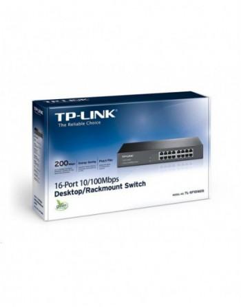 TP-LINK 16-Port 10/100Mbps Tak ve Kullan %70 En....