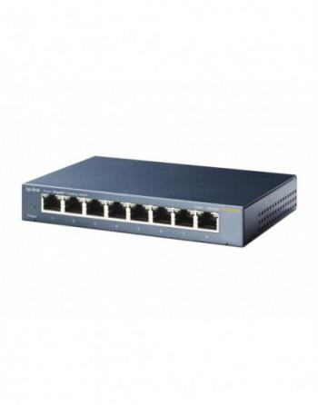 TP-LINK 10/100/1000Mbps 8xPort %72 Güç Tasarruflu...