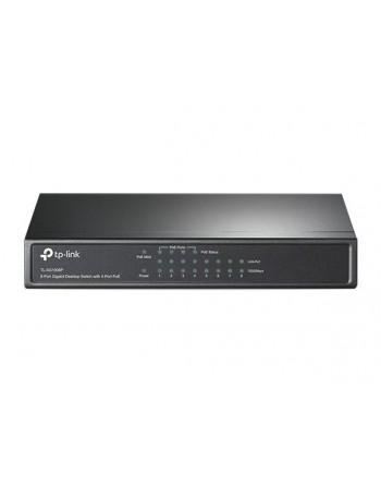 TP-LINK 10/100/1000Mbps 8xPort Masaüstü PoE Siyah...