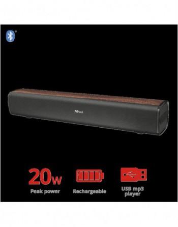 TRUST VIGOR 20W Şarjlı Kablosuz Kahverengi Ses...