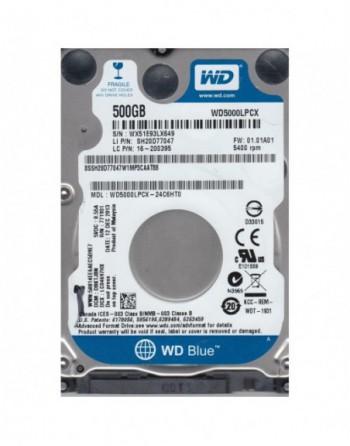 WESTERN DIGITAL 500GB Blue Sata 3.0 5400RPM 16MB...