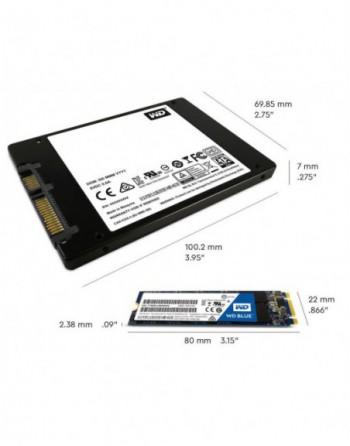 WESTERN DIGITAL 250GB Blue Sata 3.0 550-525MB/s 7mm...