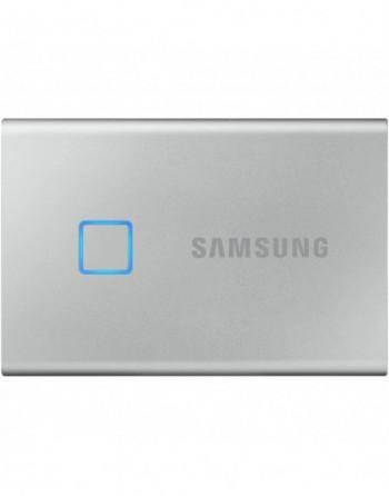 SAMSUNG 500GB T7 Touch USB 3.2 Flash SSD Gümüş...