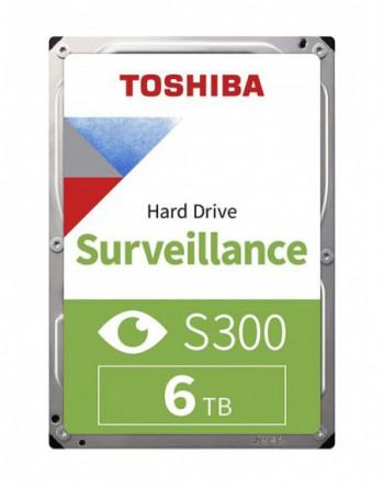 "TOSHIBA 6TB S300 Sata 3.0 7200Rpm 256MB 3,5"" Dahili..."