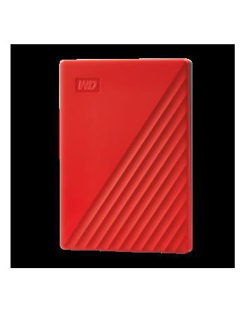 WESTERN DIGITAL 4TB My Passport USB3.2 Kırmız...