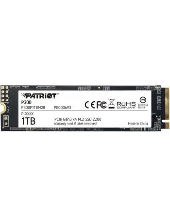 PATRIOT 1TB P300 M.2 2280 PCIE Gen3 x 4...