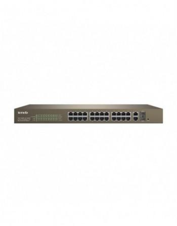 TENDA TEF1226P 24Port PoE 2GB+2xSFP WebSmart Switc...