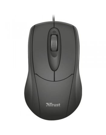TRUST Ziva 1200DPI Kablolu Optik Siyah Mouse (21947)