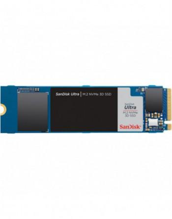 SANDISK 500GB ULTRA 3D 2400MB-1750MB/s m.2 NVMe...