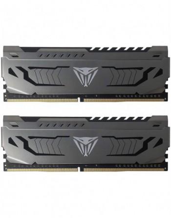 PATRIOT 16GB (8GBx2) 3000MHz DDR4 DUAL VIPER STEEL...