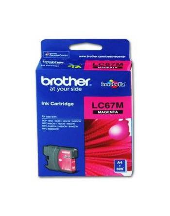 BROTHER 325 Sayfa Kırmızı Kartuş (LC67M)