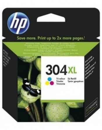 HP No 304Xl Yüksek Kapasiteli Üç Renkli Kartuş (N9K07A)