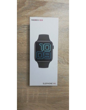 ELEPHONE SMART BAND W6 SİYAH (BAND-W6-BLACK)