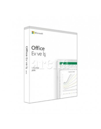 MICROSOFT MS OFFICE 2019 HOME AND BUSINESS TURKCE...
