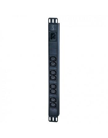 APC Easy PDU, Basic, 1U, 16A, 230V, (8)C13 (EPDU1016B)