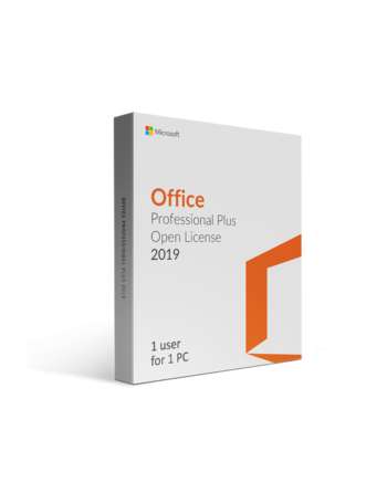 Microsoft Office Professional Plus 2019 SNGL OLP NL...