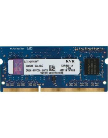 KINGSTON 4GB 1600MHz DDR3 Notebook Ram (KVR16LS11-4)