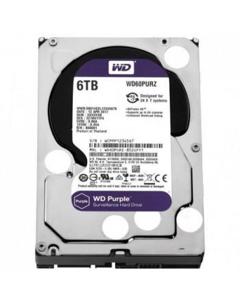 WESTERN DIGITAL 6TB Purple Sata 3.0 5400RPM 64MB...