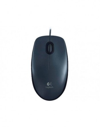 LOGITECH M90 Kablolu USB Optik 1000DPI Siyah Mouse...