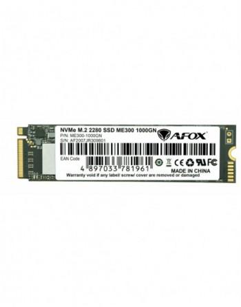 AFOX SSD 1000GB M.2 2280 NVME PCI-E  2515-1816MB/S...