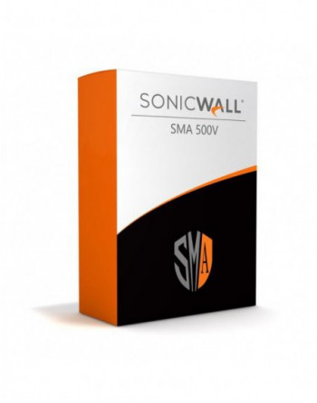 SONICWALL SONICWALL SMA 500V WITH 5 USER LICENSE...