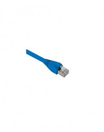 Cat6A S/FTP Patch Cord LSOH 0,5m Mavi