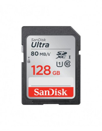 SanDisk Ultra 128GB SDXC  Memory Card 100MB/s