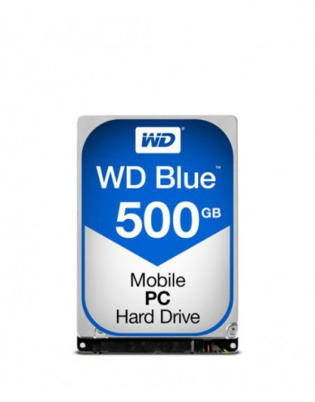 WD Blue 2.5' Slim SATA 6Gb/s 500GB 5400rpm 7,0mm