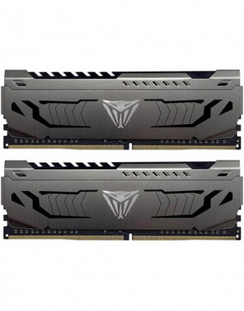 PATRIOT 32GB (16GBx2) 3200MHz DDR4 DUAL VIPER STEEL...