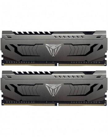 PATRIOT 64GB (32GBx2) 3600MHz DDR4 DUAL VIPER STEEL...