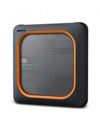 WD MY PASSPORT WIRELESS SSD 2TB GRİ