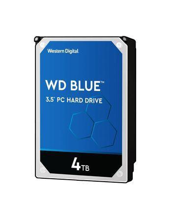 """WESTERN DIGITAL 3.5""""  4TB 5400RPM SATA3 64MB BLUE..."""