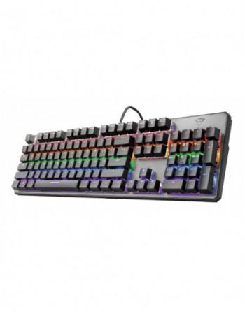 TRUST KBD GXT865 Asta Mechanical Oyuncu Klavye (22630)
