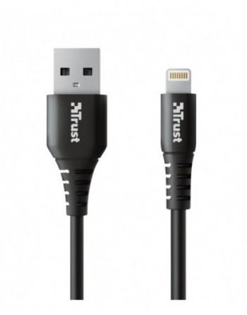 TRUST NDURA USB TO LIGHTNING CABLE 1M (23566)