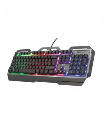 TRUST GXT856 Torac Illuminated Oyuncu Klavye (23760)